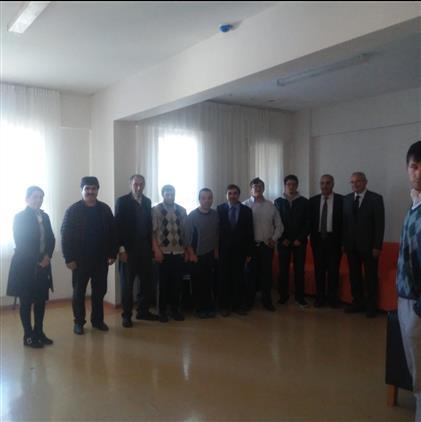 Ardahan'da Il Müftülüğümüz Engelsiz Yaşam Ve Rehabilitasyon Merkezine Ziyarette Bulundu