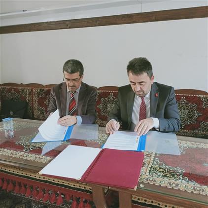 Il Müftülüğümüz Ile Amasya üniversitesi Ilahiyat Fakültesi Arasında Iş Birliği Protokolü Imzalandı
