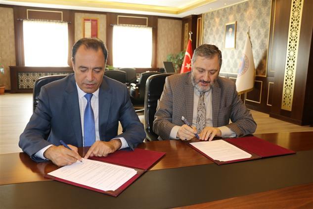 Il Müftülüğümüz Ile Bingöl üniversitesi Arasında Işbirliği Protokolü Imzalandı.