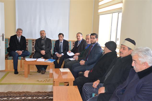 Ardahan'da Il Müftülüğümüz Tarafından 2019 Yılı Eylem Planı çalıştayı Yapıldı.