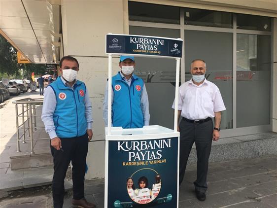 Ardahan'da Il Müftülüğümüz Tarafından Kurban Stantları Açıldı