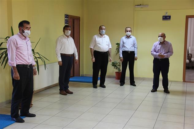 Bolu'da Il Müftülüğümüzde Daire Personeli Ile Bayramlaşma Yapıldı.