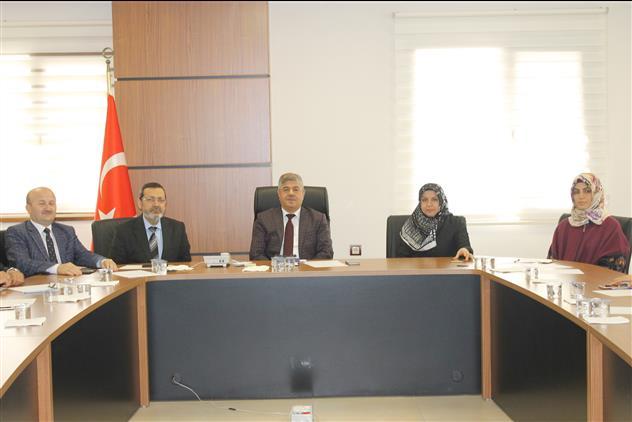 Hatay'da Il Müftülüğümüzde Engelli Koordinatörleri Toplantısı Düzenlendi