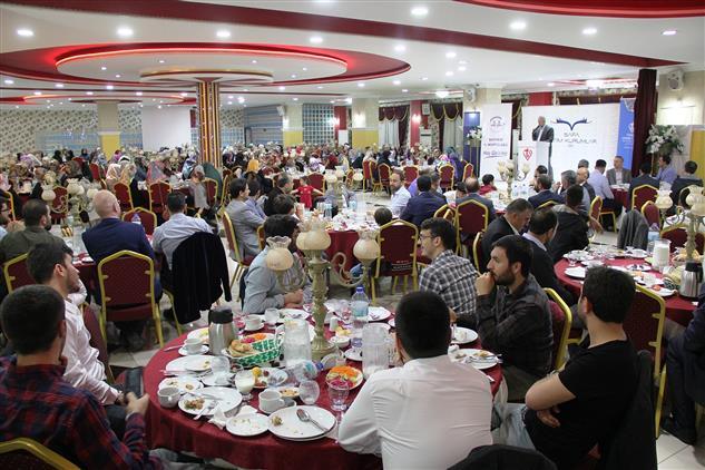 Kayseri'de Il Müftülüğümüzden üniversite öğrencilerine Iftar