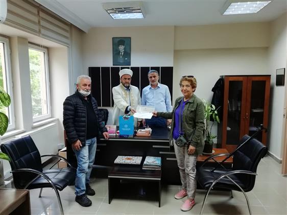 Yalova'da Il Müftülüğümüze Müracaat Ederek Müslüman Oldu.