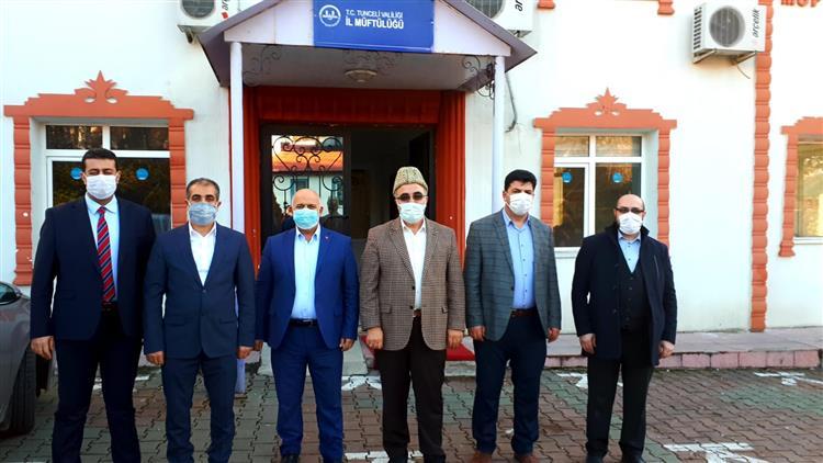 Ardahan'da Il Müftülüğümüze Ziyaret