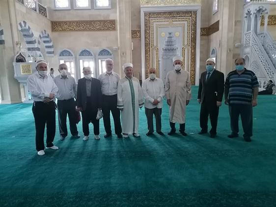 Kahramanmaras'da Il Müftümüz Afşin'i Ziyaret Etti