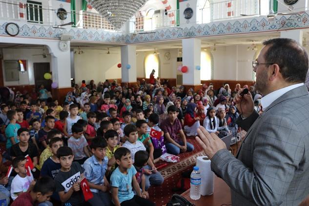 Mersin'de Il Müftümüz Akdeniz Ilçe Müftülüğü Yaz Kur'an Kursları Açılış Programına Katıldı