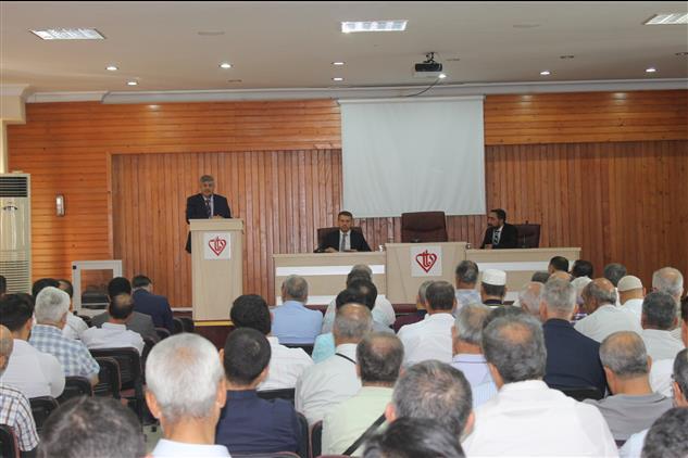 Hatay'da Il Müftümüz Antakya Ilçe Müftülüğü Ekim Ayı Personel Toplantısına Katıldı