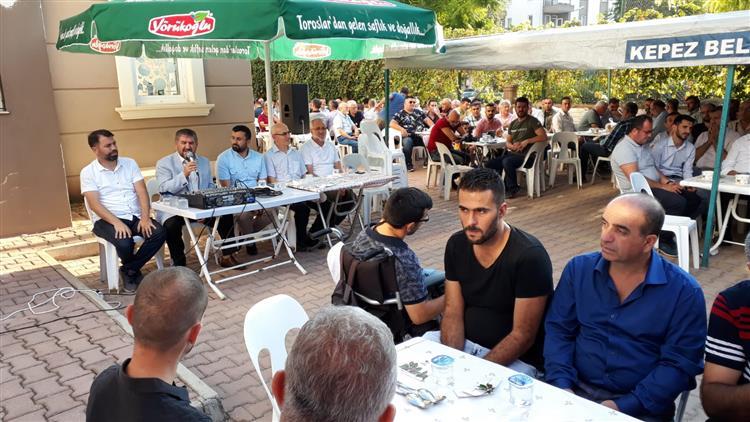 Il Müftümüz Antalya Milletvekili Mustafa Köse'nin Dedesi Merhum Durali Yükselen Adına Düzenlenen Mevlid-i şerif Programına Katıldı