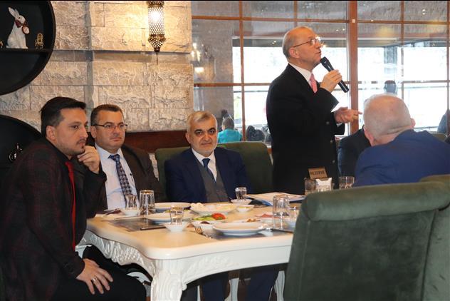 Cankiri'da Il Müftümüz Bürhan Keleş, ılgaz Ilçe Müftülüğü Ocak Ayı Mutad Personel Toplantısı'na Katıldı