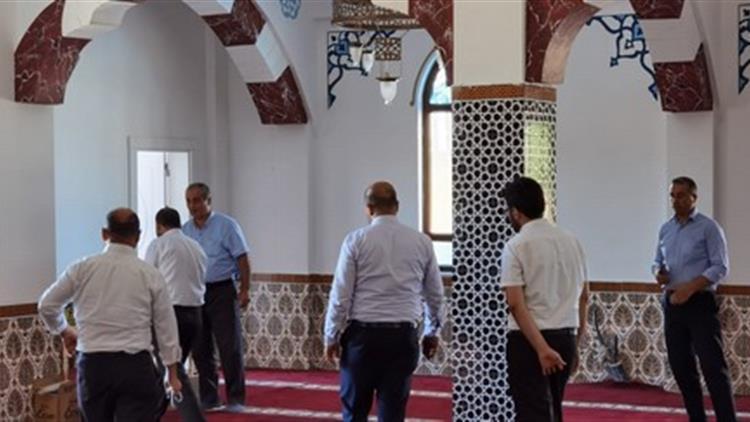 Kilis'de Il Müftümüz Camii Inşaatını Inceledi