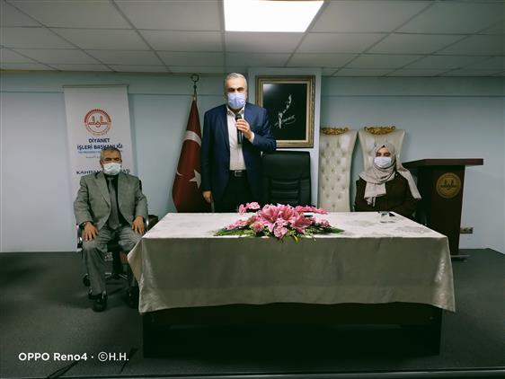 Kahramanmaras'da Il Müftümüz Celal Sürgeç Il Müftülüğü Personeliyle Vedalaştı