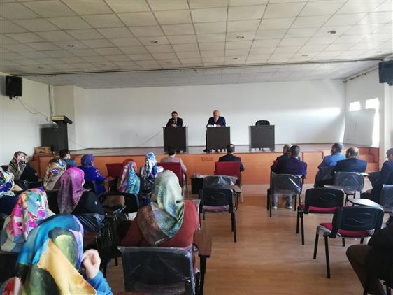 Amasya'da Il Müftümüz Durmuş Ayvaz Suluova Ilçe Müftülüğü Aylık Toplantısına Katıldı