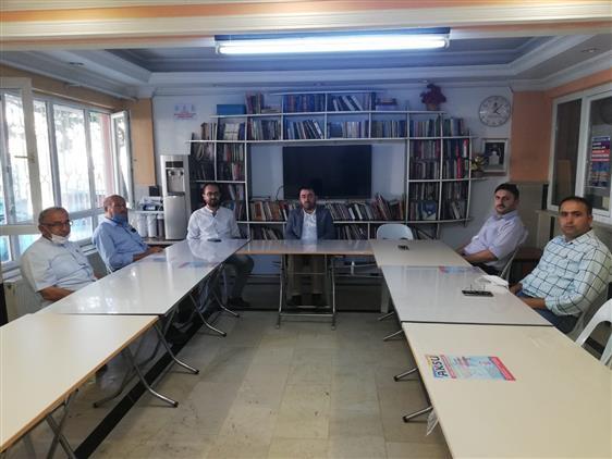 Amasya'da Il Müftümüz Durmuş Ayvaz'dan Ilim Yayma Cemiyetine Iade-i Ziyaret