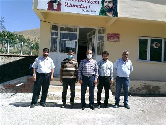 Tunceli'de Il Müftümüz şevket Dilmaç Pülümür Ilçesinde Bir Dizi Ziyarette Bulundu.