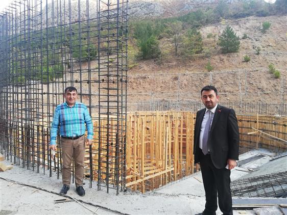 Amasya'da Il Müftümüz Hizmet Binasında Incelemelerde Bulundu