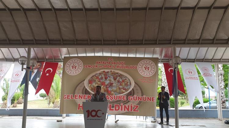 Antalya'da Il Müftümüz Kyk'da Düzenlenen Aşure Etkinliğine Katıldı