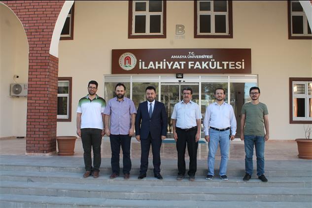 Amasya'da Il Müftümüz Ilahiyat Fakültesi Dekanı özdemir'e Iade-i Ziyarette Bulundu