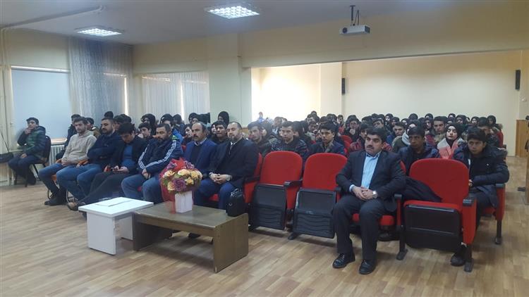 Erzincan'da Il Müftümüz Mehmet Emin çetin'in Tercan Ilçesi Ziyareti