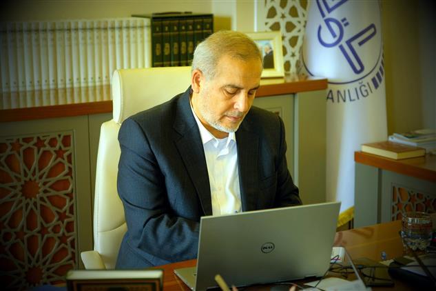 Erzincan'da Il Müftümüz Mehmet Emin çetin'in Berât Gecesi Mesajı