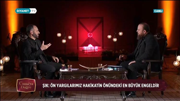 Niğde'de Il Müftümüz Mehmet Sırrı şık, Cuma'ya Doğru Programının Konuğu Oldu