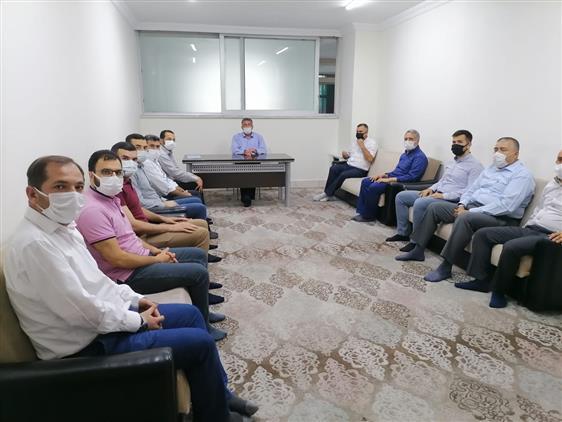 Kahramanmaras'da Il Müftümüz Muhammed Gevher K.kursunu Ziyaret Etti