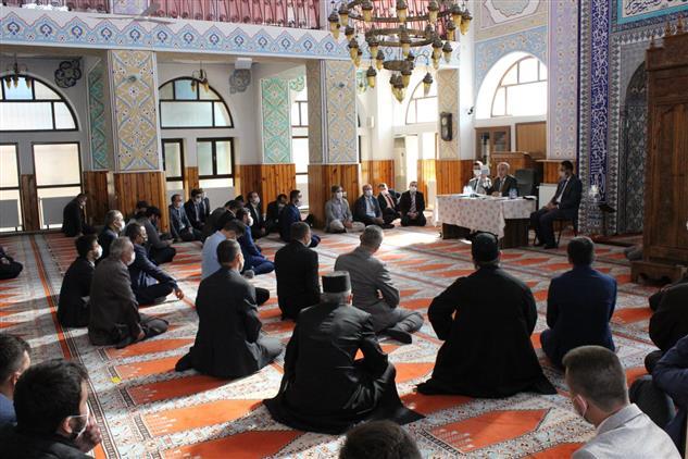 Kastamonu'da Il Müftümüz Sayın Mustafa Bilgiç Daday Ilçe Personeli Ile Bilgilendirme Toplantısı Yaptı