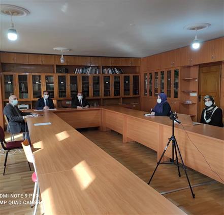 Samsun'da Il Müftümüz Sn. Seyfullah çakır 17 Ilçe Gençlik Koordinatörleri Ile Online Toplantı Gerçekleştirildi.