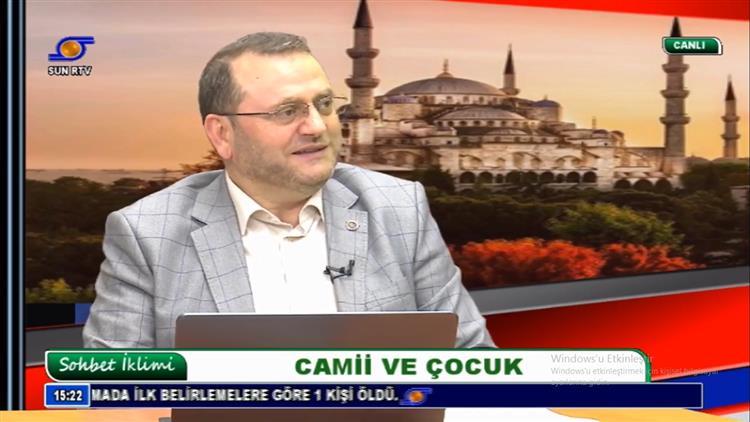 Mersin'de Il Müftümüz Sun Tv Canlı Yayın Konuğu Oldu