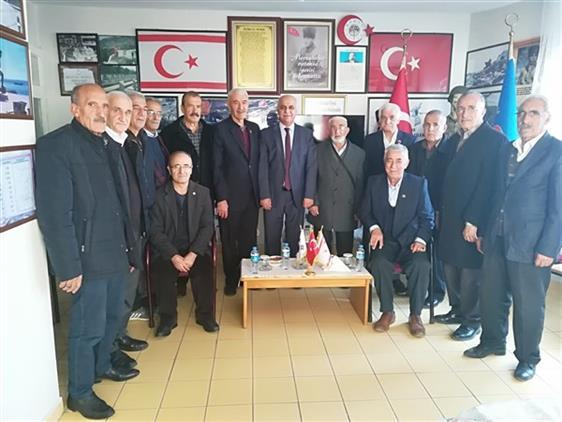 Malatya'da Il Müftümüz Türkiye Muharip Gaziler Derneği şubesini Ziyaret Etti
