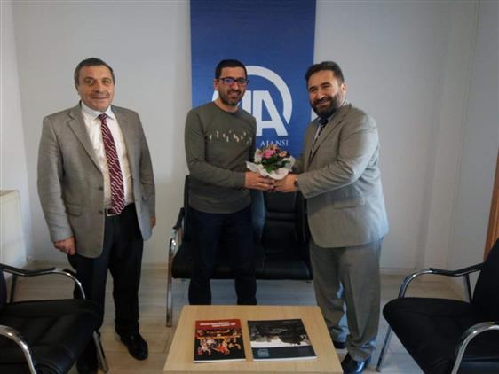 Bayburt'ta Il Müftümüz Yerel Gazeteleri Ziyaret Etti