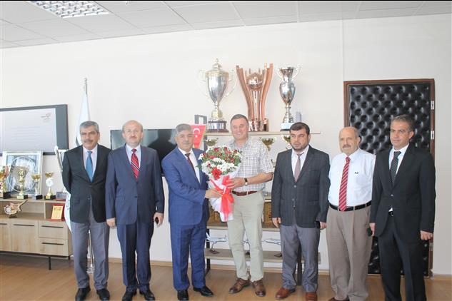 Hatay'da Il Müftümüzden, Belediye Başkanlarımıza Camiler Ve Din Görevlileri Haftası Ziyareti