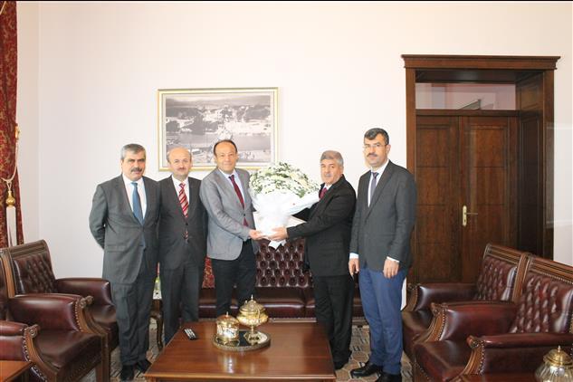 Hatay'da Il Müftümüzden, Belediye Başkanlarımıza Mevlid-i Nebi Haftası Ziyareti