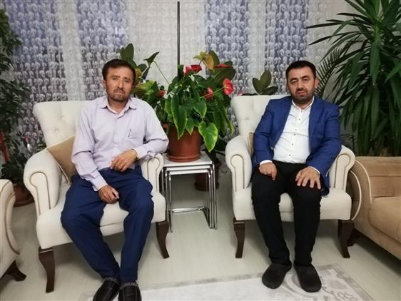 Antalya'da Il Müftümüzden şehit Ailesine Ziyaret