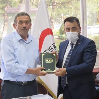 Amasya'da Il Müftümüzden şeker Fabrikası Yönetim Kuruluna Iade-i Ziyaret