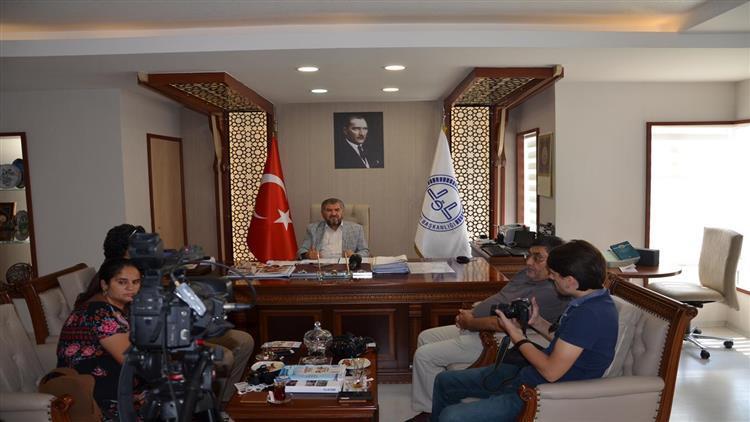 Antalya'da Il Müftümüzden Kurban Bayramı Hakkında Basın Toplantısı