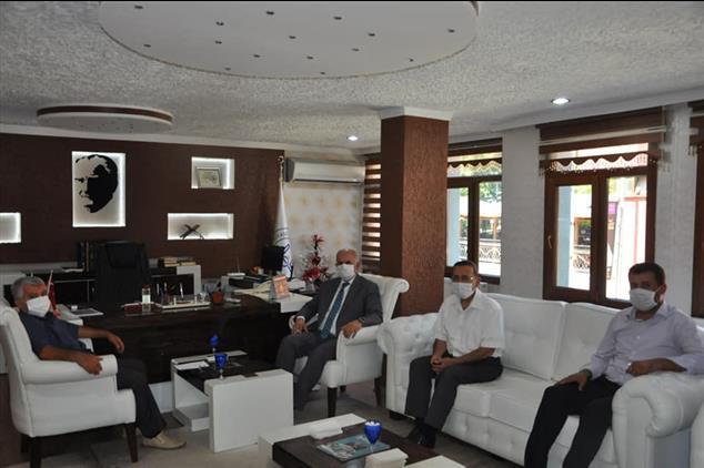 Gaziantep'de Il Müftümüzden Islâhiye Müftülüğüne Ziyaret
