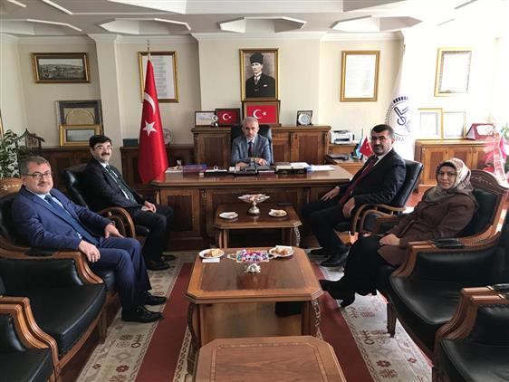 Ankara'da Il Müftümüze Ziyaretler