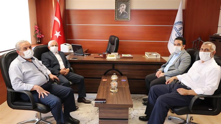 Sivas'ta Il Müftüsü Akkuş, Ilçe Müftüsü Al' A Hayırlı Olsun Ziyaretinde Bulundu