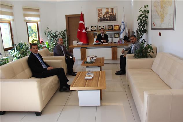 Yozgat'de Il Müftüsü Ali Gülden'e Ziyaret