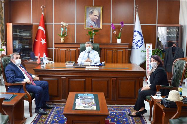 Nevşehir'de Il Müftüsü Altunkaya'ya 'hayırlı Olsun' Ziyaretleri Devam Ediyor…