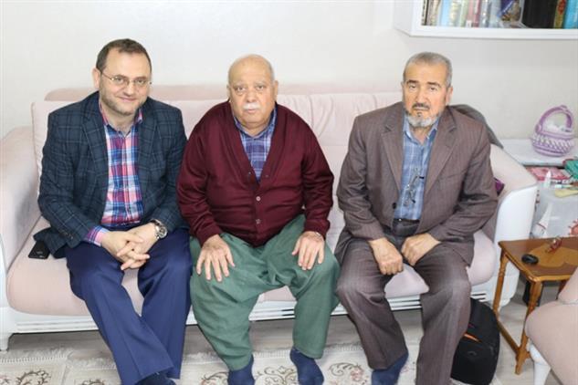 Mersin'de Il Müftüsü Dr. Kondi, Hayırseverler Iş Insanları Değerli Ve Acar'ı Evlerinde Ziyaret Etti