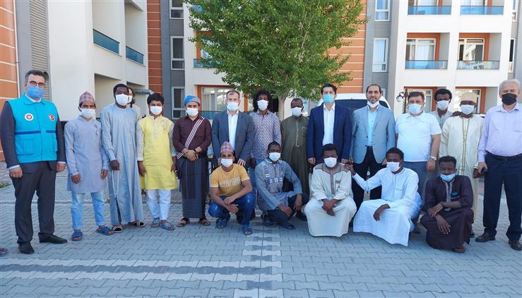 Konya'da Il Müftüsü öge'den Kyk öğrencilerine Bayram Ziyareti