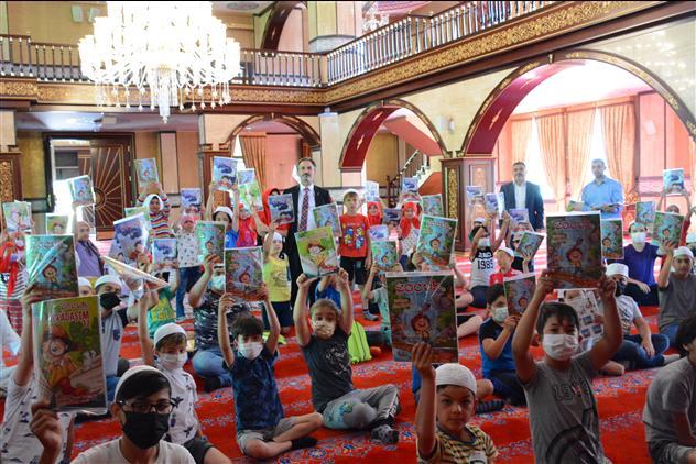 Yozgat'de Il Müftüsü Gülden'in Yaz Kur'an Kursları Devam Ediyor