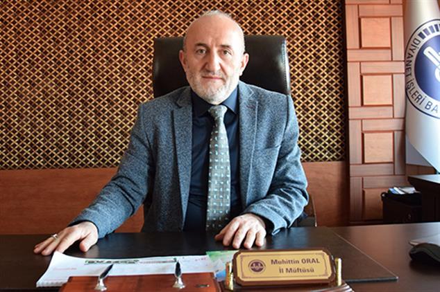 Giresun'da Il Müftüsü Muhittin Oral'ın Ramazan Bayramı Mesajı