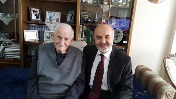 Tekirdağ'da Il Müftüsü Ipek, Mehmet Serez'i Ziyaret Etti.