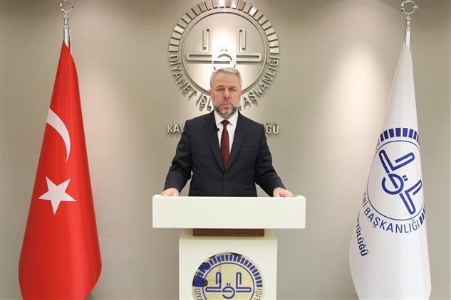 Kayseri'de Il Müftüsü Prof. Dr. şahin Güven'in Ramazan Bayramı Mesajı