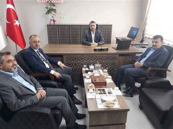 Yozgat'de Il Müftüsü Sezik'ten Hayırlı Olsun Ziyareti