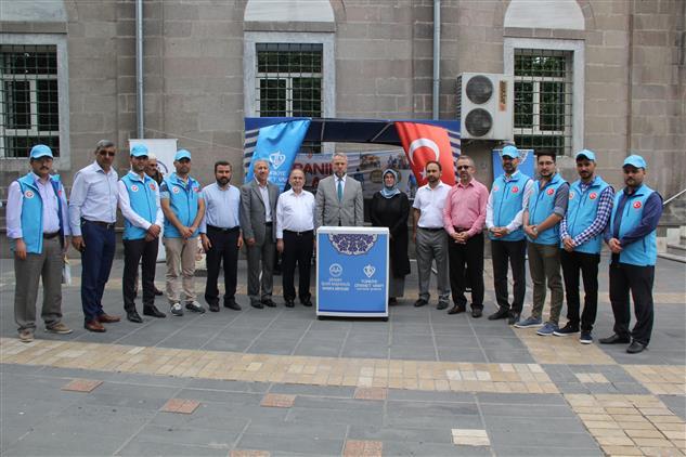 Kayseri'de Il Müftüsü Ve Yardımcıları Ile Merkez Ilçe Müftülerinden Kurban Bağışı
